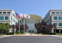 Hauptsitz der Apple Inc in Infinite Loop in Cupertino, California
