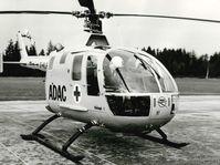 """Start als ADAC Rettungshubschrauber """"Christoph 1"""" im Jahr 1970: die erste BO105 in München  Bild: """"obs/ADAC SE/ADAC Luftrettung"""""""