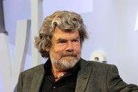 Reinhold Messner auf der Frankfurter Buchmesse 2015