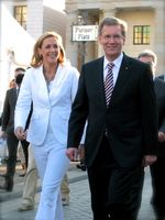 Bettina und Christian Wulff (2010)