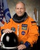 ESA-Astronaut Hans Schlegel. © NASA