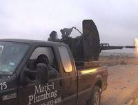 Ford F-250: Der Truck ist auch beim IS beliebt. Bild: twitter.com