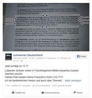 Bild: Screenshot Facebook post