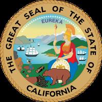 Siegel des Bundestaates California