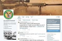 Screenshot Twitter-Account CENTCOM