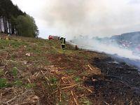 Ein weiteres Ausbreiten des Feuers konnte verhindert werden