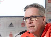 Dirk Schimmelpfennig, Chef de Mission in Korea, bei einer Pressekonferenz im Deutschen Haus. Bild: picture-alliance