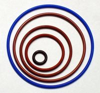 O-Ringe verschiedenen Durchmessers