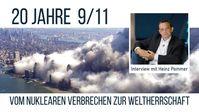 """Bild: SS Video: """" """"20 Jahre 9/11"""" - vom nuklearen Verbrechen zur Weltherrschaft - Ein Interview mit Heinz Pommer"""" (www.kla.tv/19814) / Eigenes Werk"""