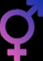 Intersexualitätssymbol Bild: ParaDox  / wikipedia.org