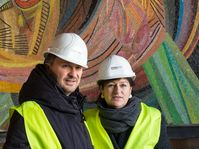 Yilmaz Dziewior, Direktor Museum Ludwig und Birgit Meyer, Intendantin Oper Köln (2017), Archivbild