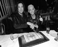 "Gessle and Fredriksson celebrating the 25th anniversary of ""The Look"" topping the Billboard Hot 100"