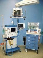 Anästhesiearbeitsplatz zur Narkosedurchführung