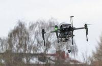 Drohne: einer von über 70 Prototypen