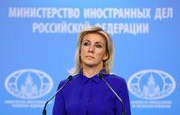 Sprecherin des russischen Außenministeriums Maria Sacharowa (Archivfoto)