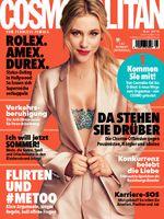 "Cosmopolitan Cover. Bild: ""obs/Bauer Media Group, Cosmopolitan"""