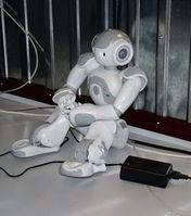 Roboter: Seine Kollegen haben Selbsteinsicht. Bild: pixelio.de/Dieter Schütz
