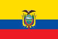 Flagge Ecuadors