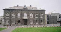 Island: Der Sitz des isländischen Parlaments Althing