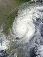Sehr schwerer zyklonischer Sturm Hudhud (Symbolbild)