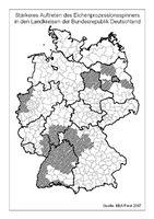 Verbreitungskarte Grafik: Biologische Bundesanstalt für Land-und Forstwirtschaft