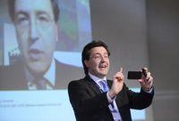 "Frank Beckmann, Programmdirektor vom NDR beim newTV Kongress 2013. Bild: ""obs/Faktor 3 AG"""