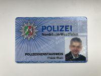 Polizeidienstausweis Bild: Polizei