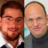 Bild: Dr. Ulrich Zissler und Prof. Dr. Carsten Schmidt-Weber Quelle: Quelle: Helmholtz Zentrum München (HMGU) (idw)
