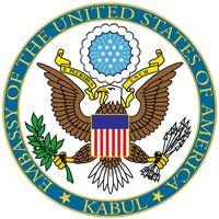 Logo der Botschaft der Vereinigten Staaten in Kabul