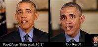 "Bild: Screenshot Youtube Video ""Synthesizing Obama: Learning Lip Sync from Audio"""