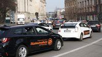 Rund 800 Mietwagen-Fahrer haben sich am 23.02.21 einem Autokorso in Berlin angeschlossen Bild: wirfahren.de Fotograf: wirfahren.de