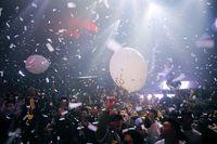 Feiern in Wuhann im Dezember 2020: Coronafrei!