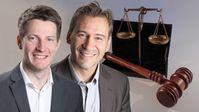 Dr. Martin Vincentz MdL(li) und Nic Peter Vogel (2019)