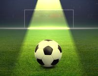Fußball (Symbolbild)
