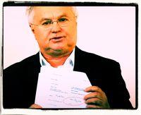 Der Journalist Miklós Ómolnár · Bild: Magyar Nemzet / UM / Eigenes Werk
