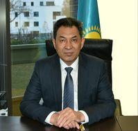 Dauren Karipov, Botschafter der Republik Kasachstan in Berlin.  Bild: Botschaft d. Republik Kasachstan Fotograf: Botschaft d. Republik Kasachstan