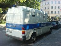 Gefangenkraftwagen der Polizei Hessen