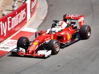 Sebastian Vettel im Ferrari SF16-H 2016 in Monaco (2016)