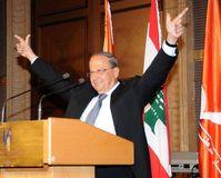 Präsident Michel Aoun