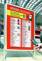 Digitale Leseproben auf Plakat wichtiger Schritt für das mobile Shopping der Zukunft. Bild: Ströer Out-of-Home Media AG