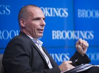 Yanis Varoufakis Bild: Brookings Institution, on Flickr CC BY-SA 2.0