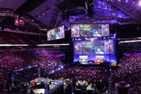 The International, an annual Dota 2 tournament at the KeyArena in Seattle
