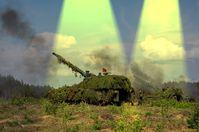 Moderne Artillerie (Symbolbild)