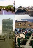 Collage vom Jugoslawienkrieg