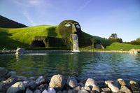 Das Reich des Riesen wird ab 11. Juni wieder für Besucherinnen und Besucher zugänglich sein. Bild:     Swarovski Kristallwelten