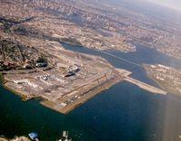 Der Flughafen New York-LaGuardia aus der Luft