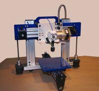 Ein ORDbot Quantum 3D Drucker