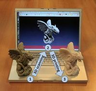 3D-Druck: unbegrenzte Möglichkeiten. Bild: Wikipedia, ALoopingIcon