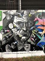 Graffiti am Teltowkanal