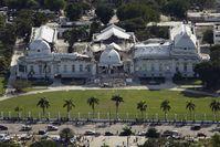Zerstörter Präsidentenpalast (Januar 2010), Archivbild